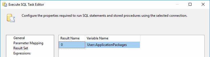 The Heart of SSIS Framework Community Edition-Parent dtsx