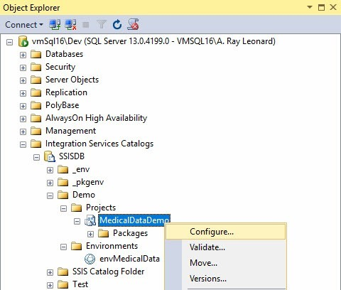 An Example of Data Integration Lifecycle Management with