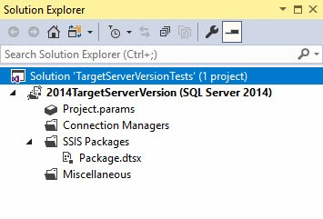 A Tale of Two Properties: SSIS ProjectVersion and